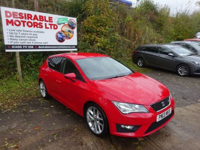 SEAT Leon 2.0 TDI FR 5dr Hatchback Diesel RedSEAT Leon 2.0 TDI FR 5dr Hatchback Diesel Red at Desirable Motors Tredegar