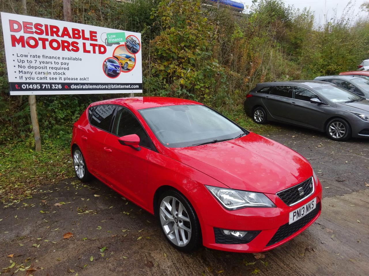 SEAT Leon 2.0 TDI FR 5dr Hatchback Diesel Red at Desirable Motors Tredegar